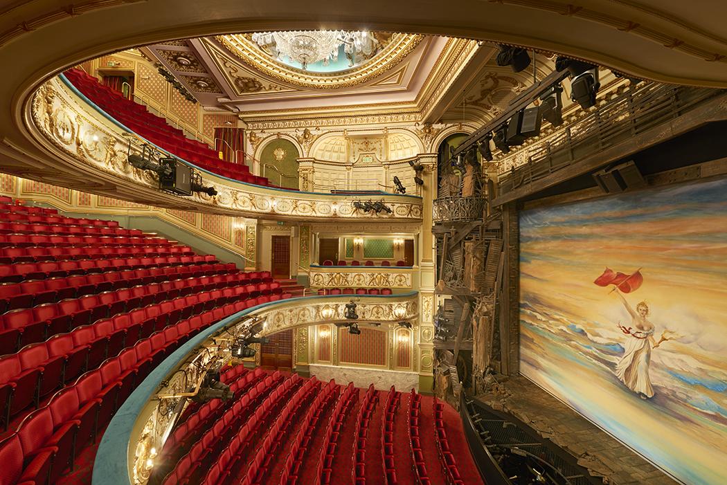 The Sondheim Theatre auditorium