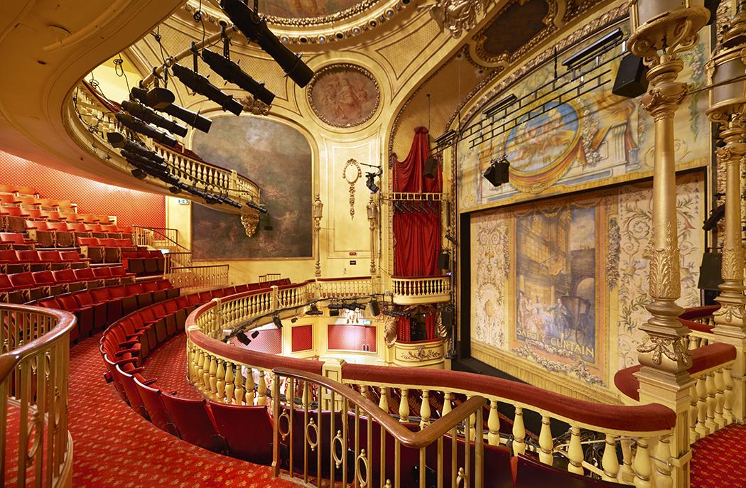 The Playhouse Theatre auditorium