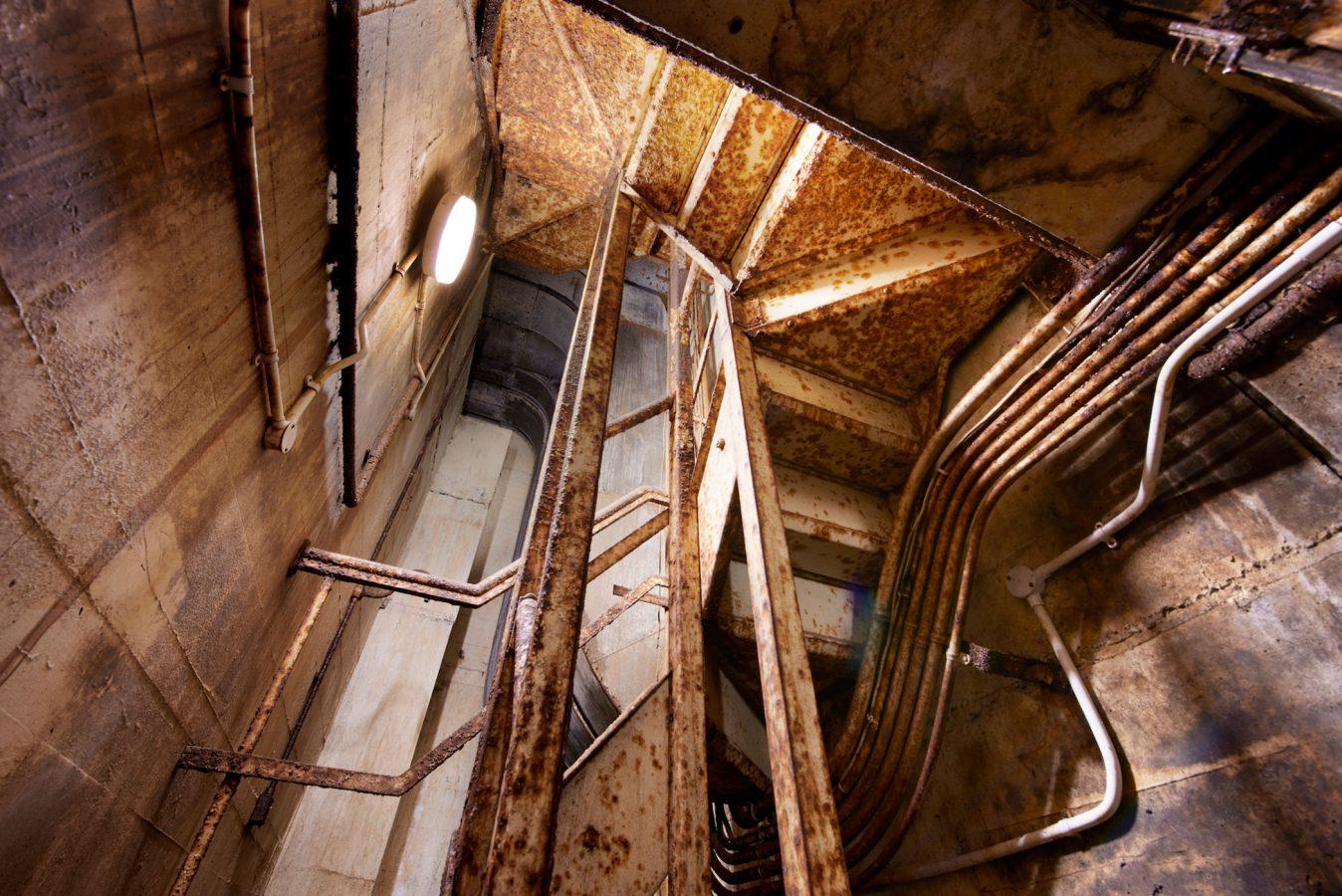 Paddock Emergency Stairs