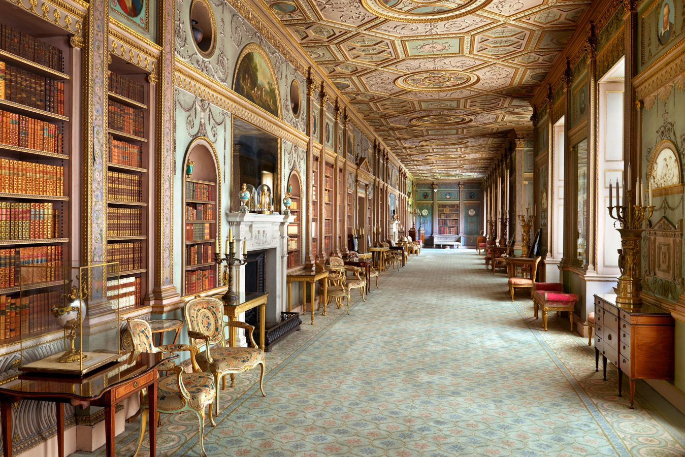Syon House The Long Gallery