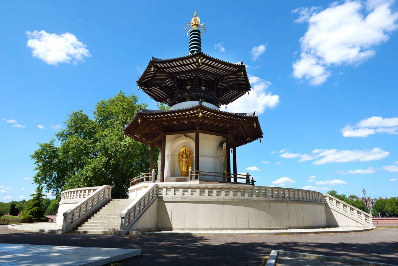 K Peace Pagoda Battersea Park