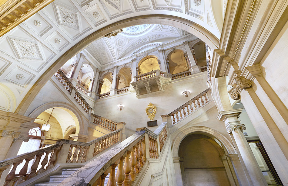 Main Staircase at The Old War Office