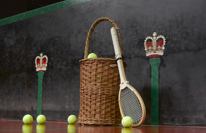 Queens Club - real tennis racket