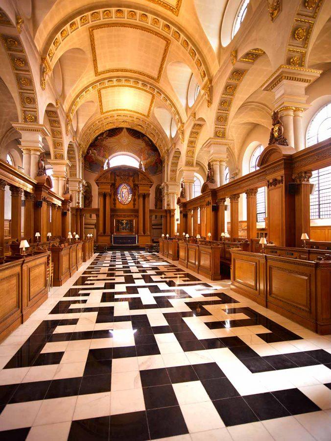 StBrides - interior from West Door