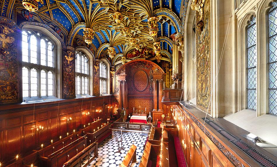 The Chapel Royal Hampton Court Palace