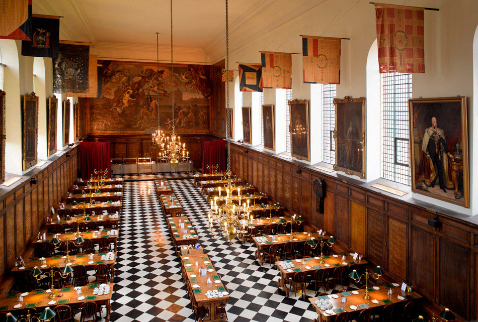 The Great Hall the Royal Hospital Chelsea