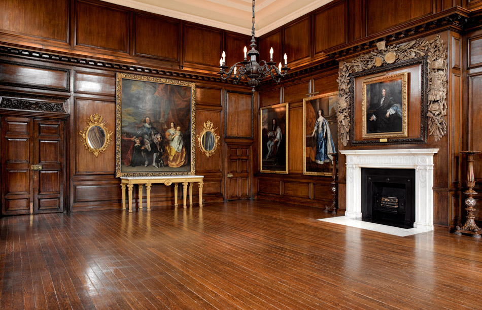 The Council Chamber - state apartments the Royal Hospital Chelsea
