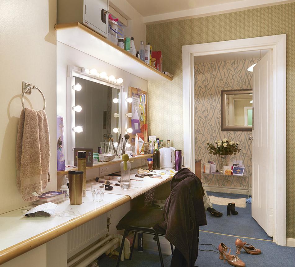 Stars dressing room Prince Edward Theatre