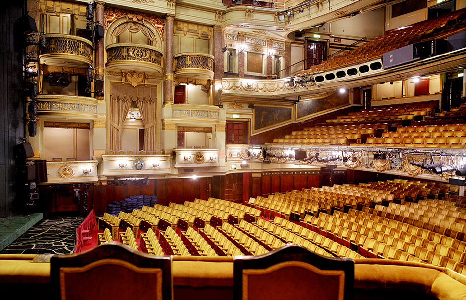 Theatre Royal Auditorium from the Royal Box