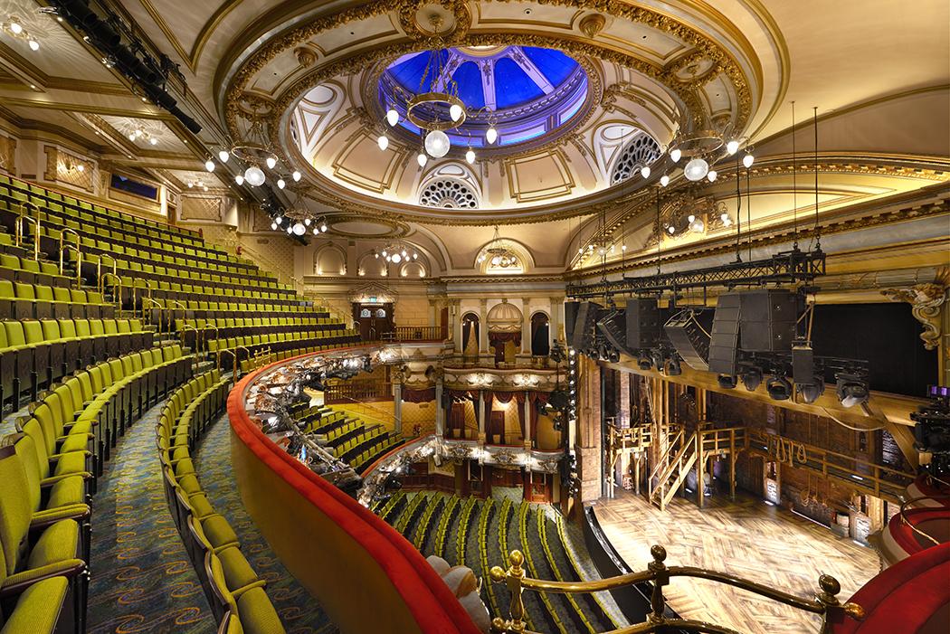 The Victoria Palace Theatre auditorium
