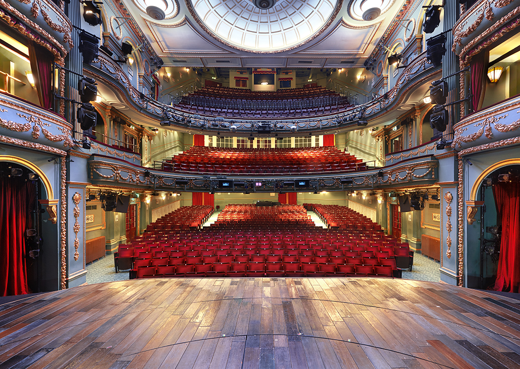 The Aldwych Theatre the actors view