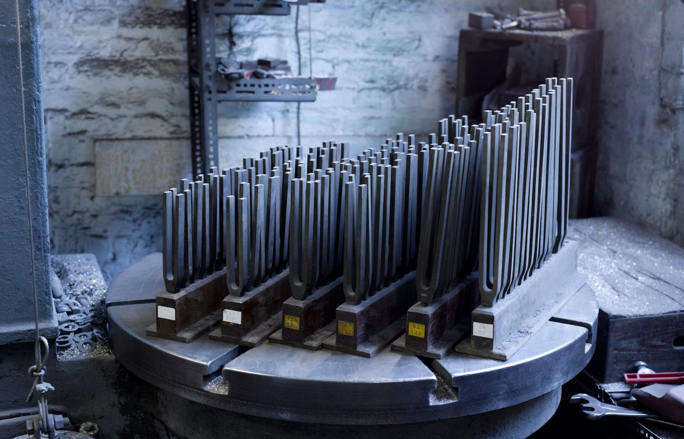 Whitechapel Bell Foundry 20th century tuning forks