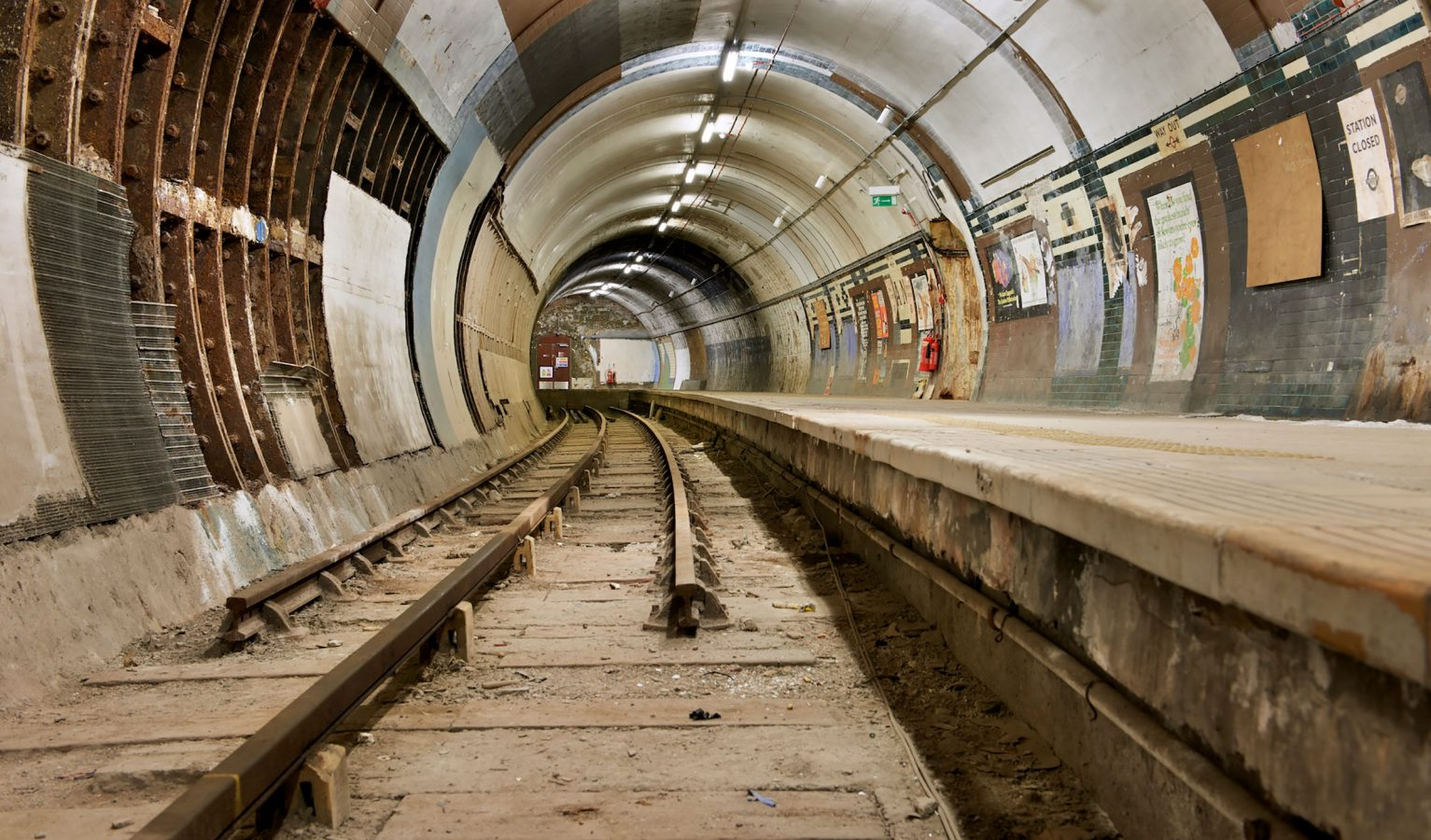Aldwych Underground Station Disused
