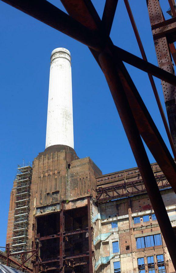 Battersea Power Station Smoke Stack