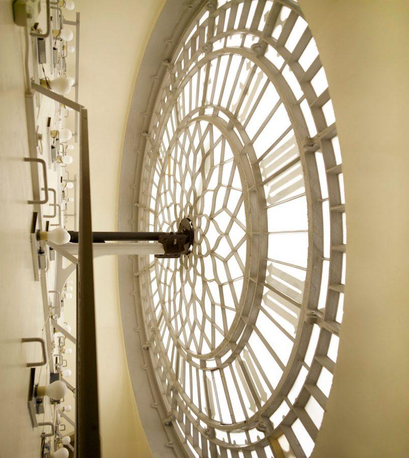 Big Ben Inside South Clock Face