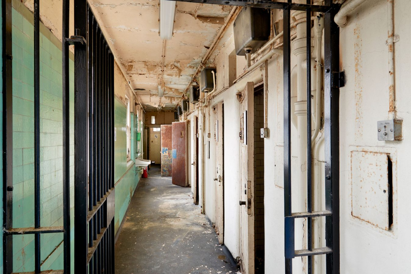 Bow Street Police Station Cells