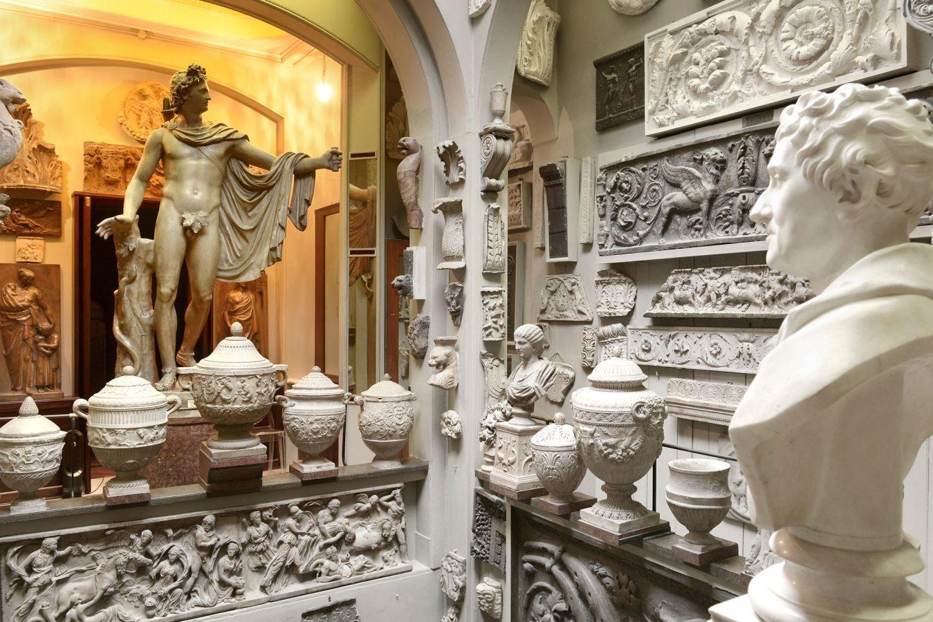 Sir John Soanes Museum Statue of Apollo