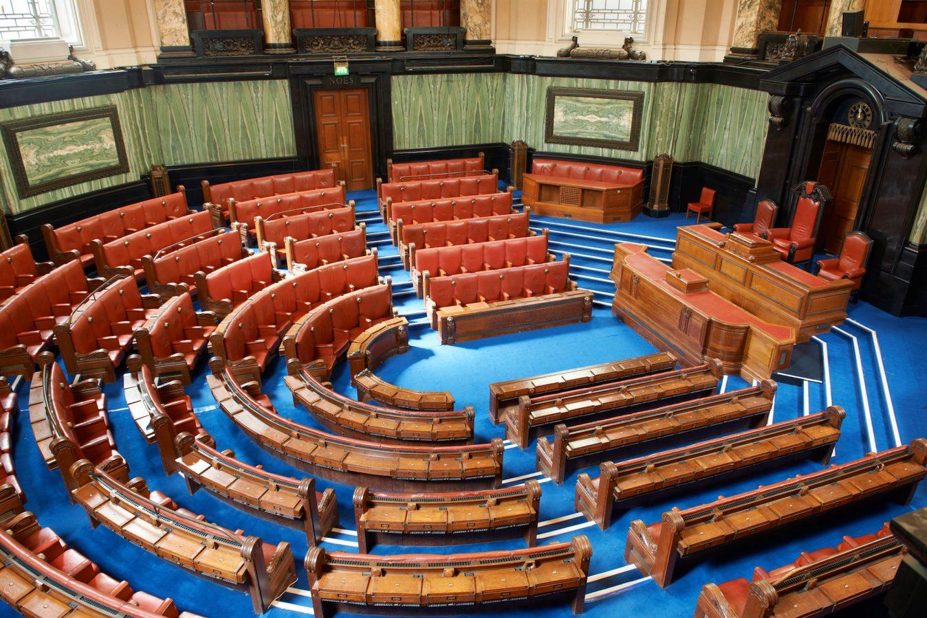 County Hall London Debating Chamber