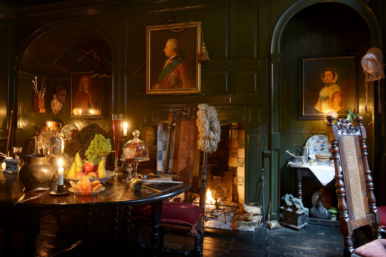 Dennis Severs House Dining Chamber