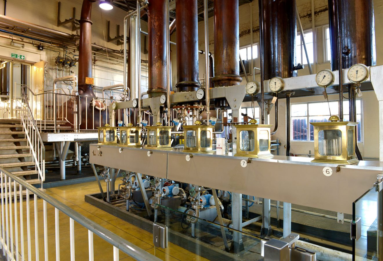 F Beefeater Gin Distillery
