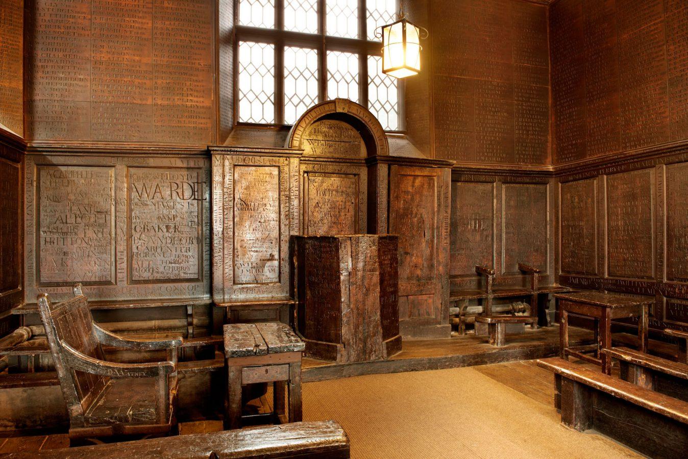 Harrow School Fourth Form Room 1572