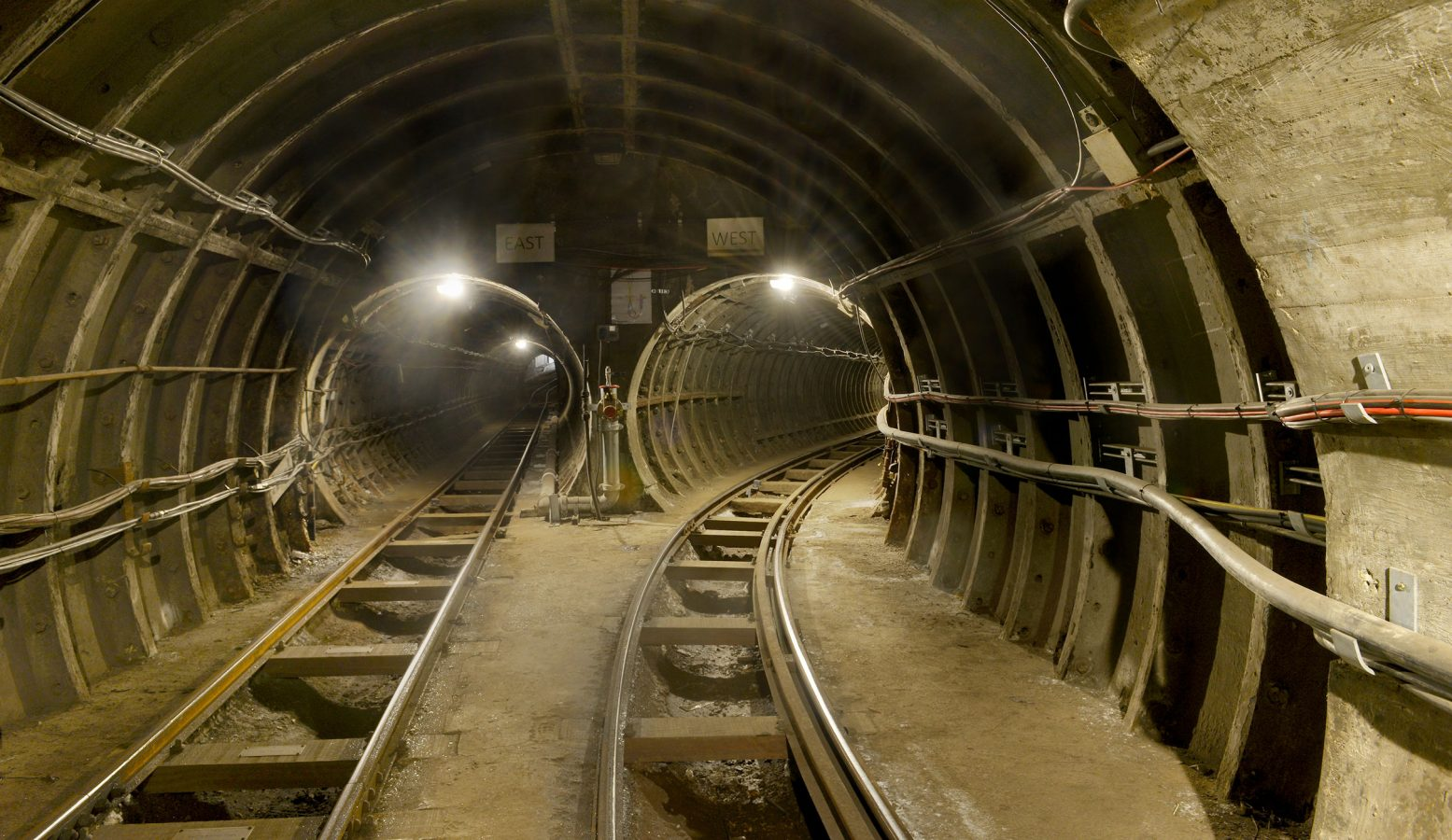 Mail Rail East and West Tunnels