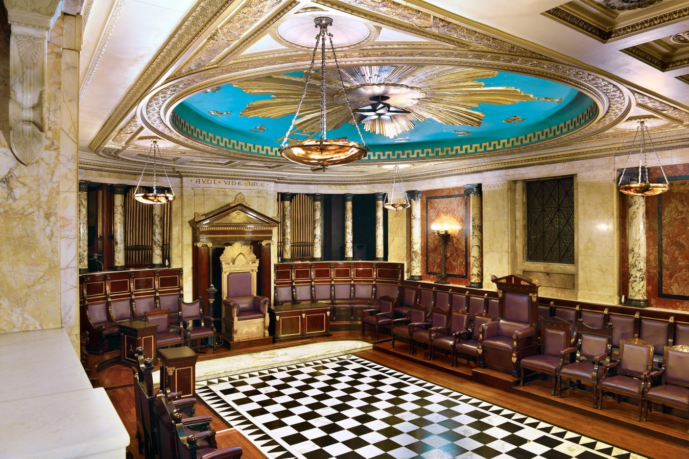 Masonic Temple at Andaz Liverpool Street Hotel