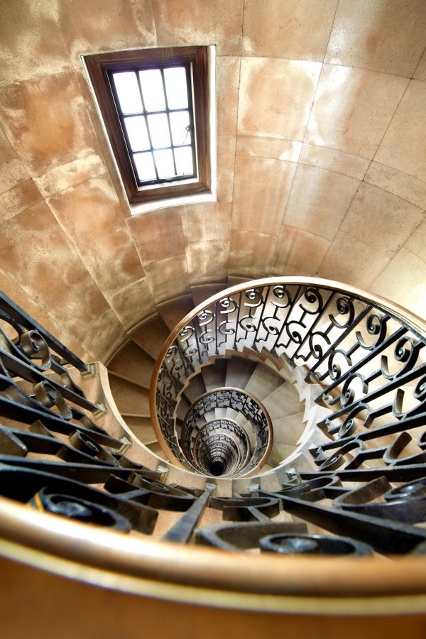 Old Midland Bank Spiral Staircase