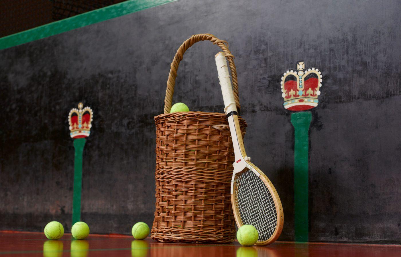 Queens Club Real Tennis Racket