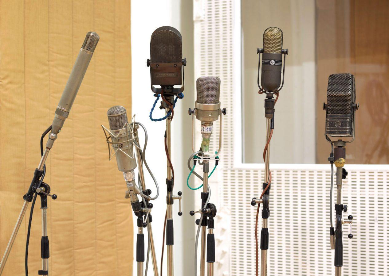 Abbey Road Studios Vintage Microphones