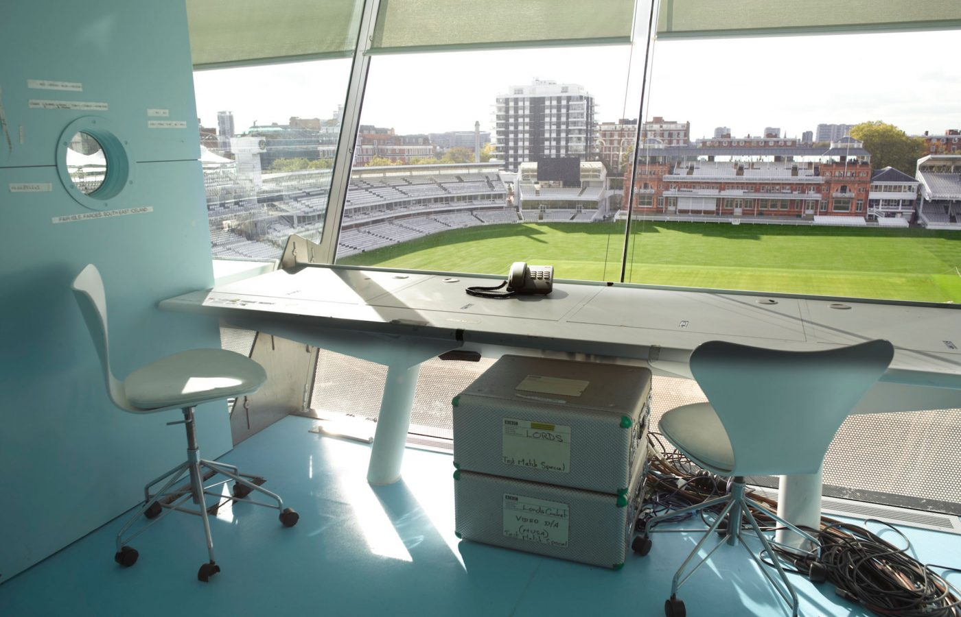 Lords Cricket Ground BBC Test Match Special Box