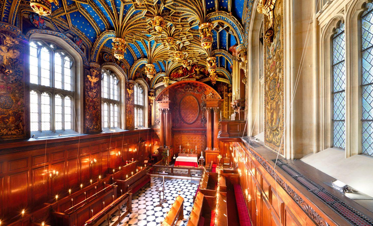 Hampton Court Palace The Chapel Royal
