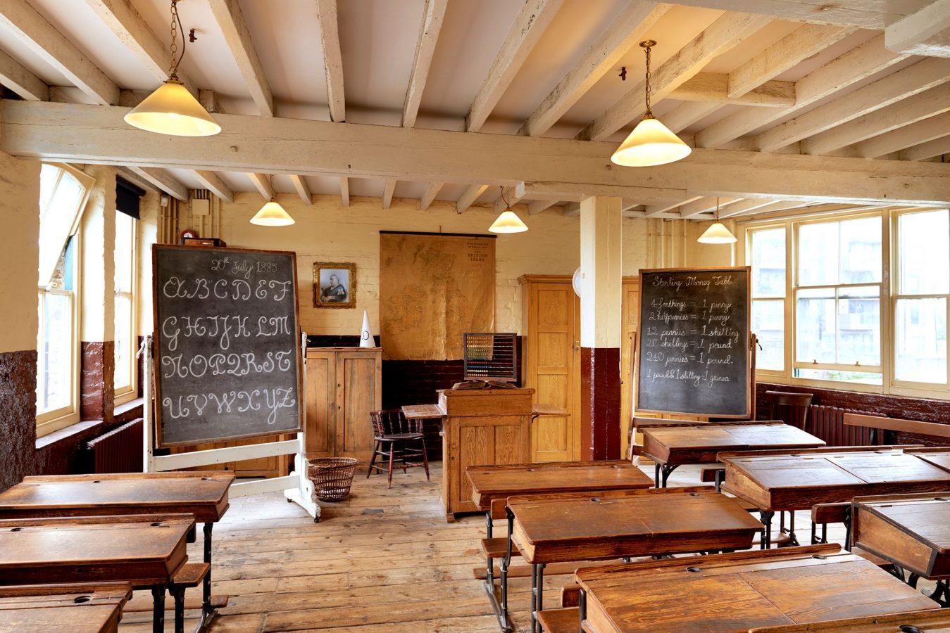 Ragged School Museum Classroom
