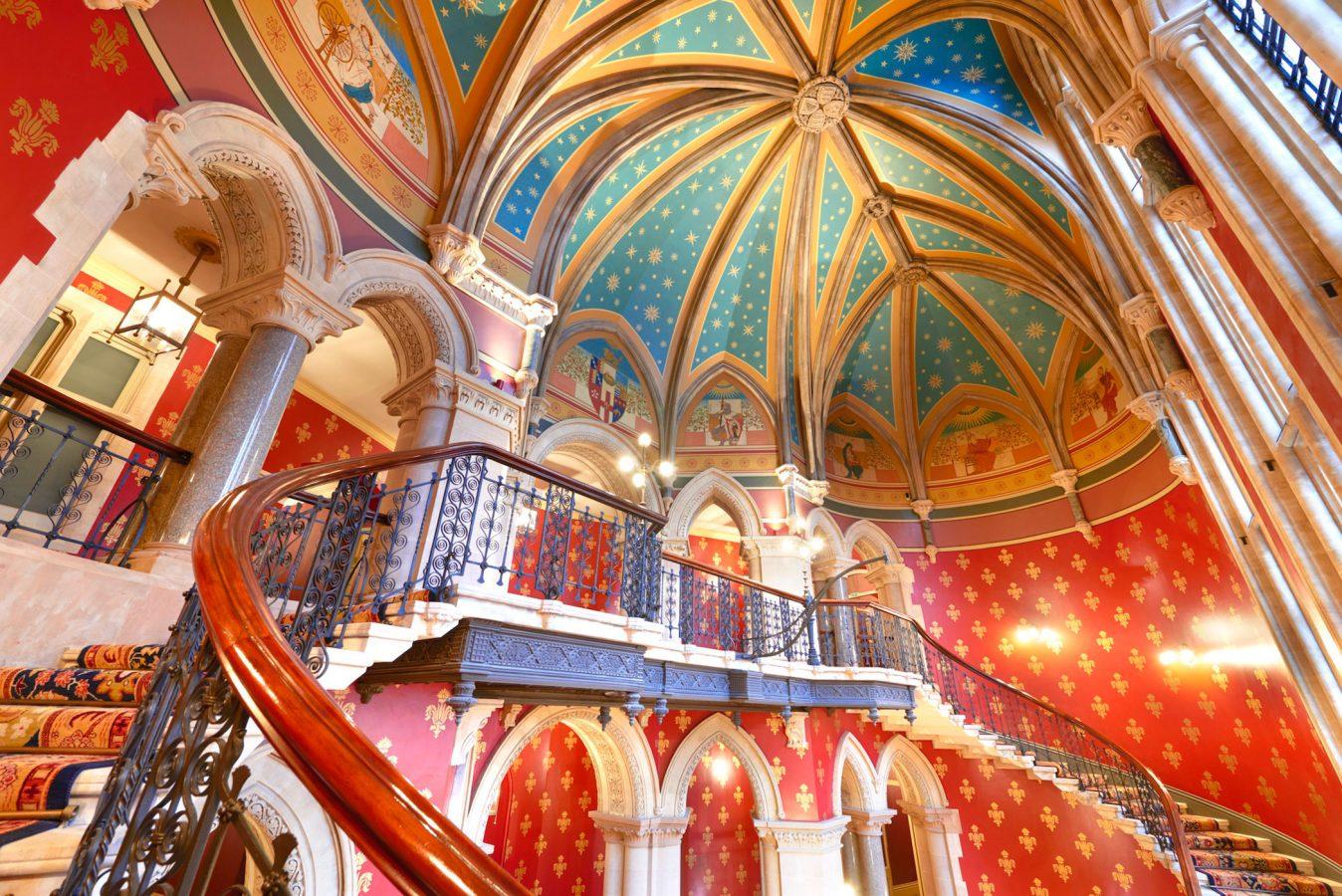 St Pancras Hotel Staircase