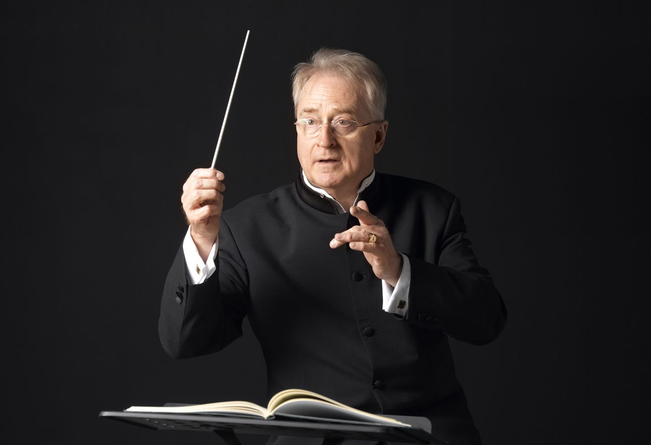 London, Parsons Green - December 5 2012: Studio portrait of conductor Adrian Brown. (Photo by Peter Dazeley/Getty Images)