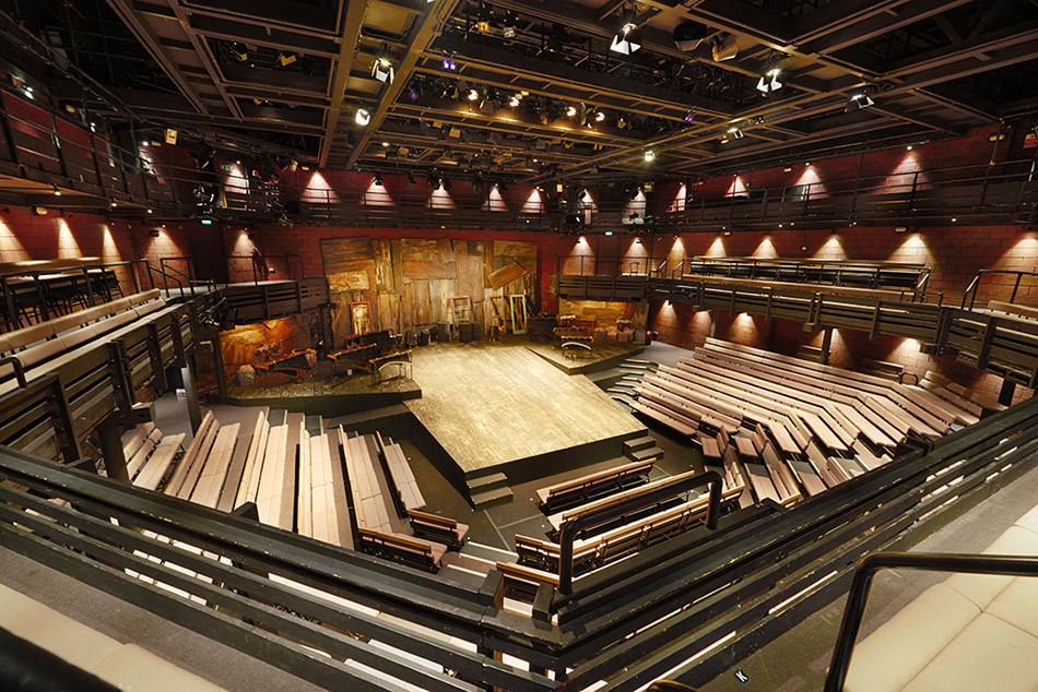 Young Vic - A Man of Good Hope adapted by Isango Ensemble elevated view