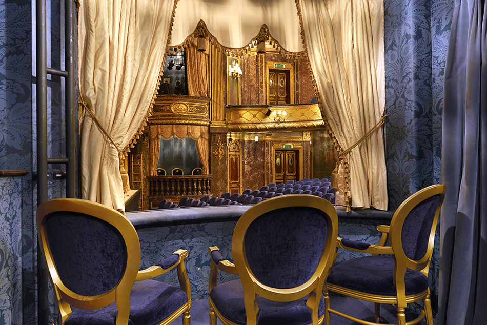 Theatre Royal Haymarket Inside Royal Box