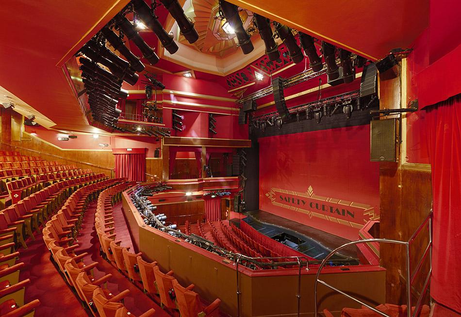 Adelphi Theatre Auditorium from the circle