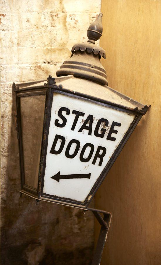 Stage Door Lantern found under the stage Duke of York's